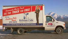 The Kristan Cole Team, Use Our Moving Truck
