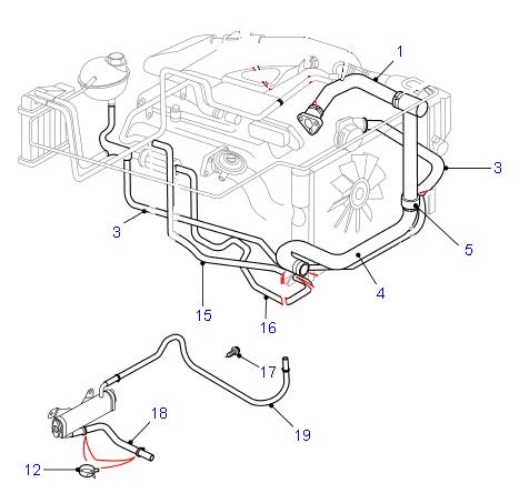RepairGuideContent additionally Chrysler 300 Blend Door Actuator Location furthermore 2002 Ford Taurus Engine Diagram Water Pump Housing additionally P 0996b43f8127816f furthermore Ford Taurus 1999 Ford Taurus Replace Heater Hose Assembly. on 2004 f150 heater core location
