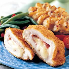 Chicken Cordon Bleu Meal